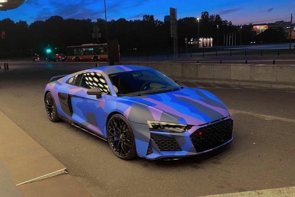 Audi R8 Plus #Camo