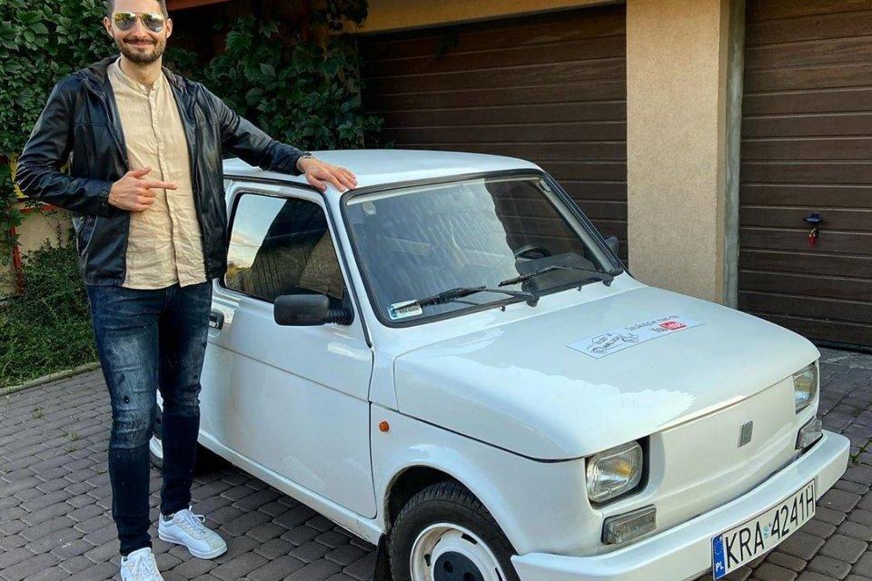 Fiat 126P #Duży w Maluchu