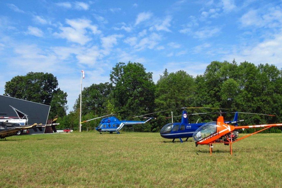 Lot helikopterem MI-2 na 6 osób